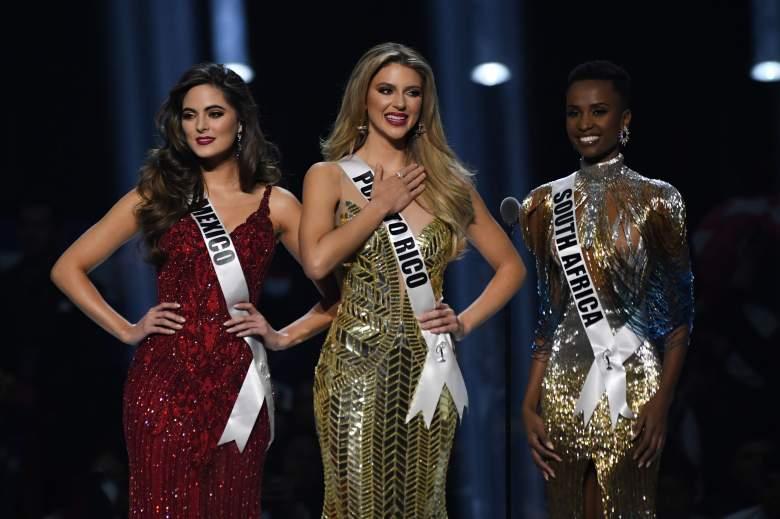 Miss Sudáfrica es la nueva Miss Universo: Puerto Rico fue segunda y México tercera