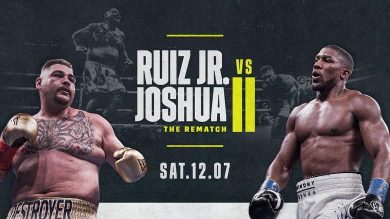 Ruiz Jr. vs. Joshua 2: ¿Cuánto cuesta ver la pelea por DAZN?