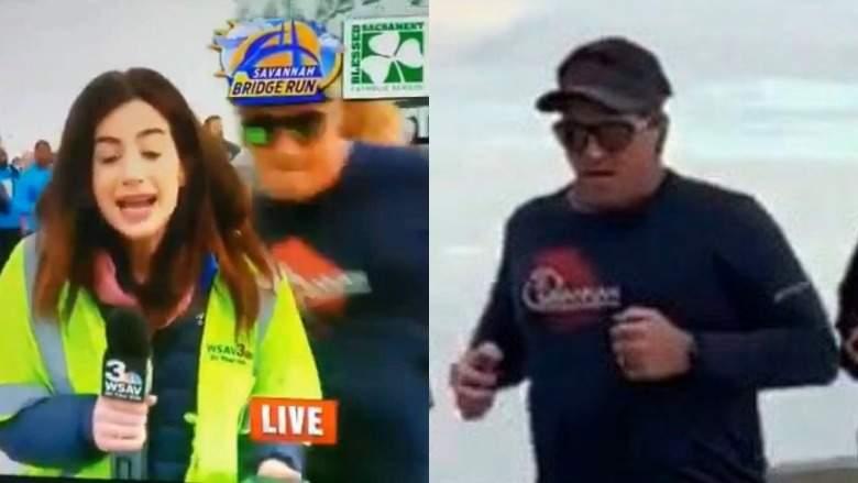 Tommy Callaway:¿Qué le pasará por tocarle trasero a reportera Alex Bozarjian?