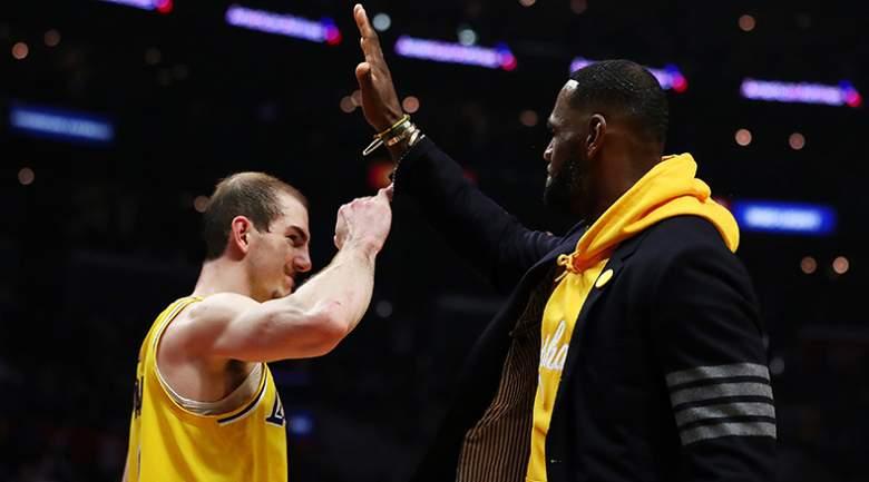 LeBron James hace una gran revelación sobre Alex Caruso