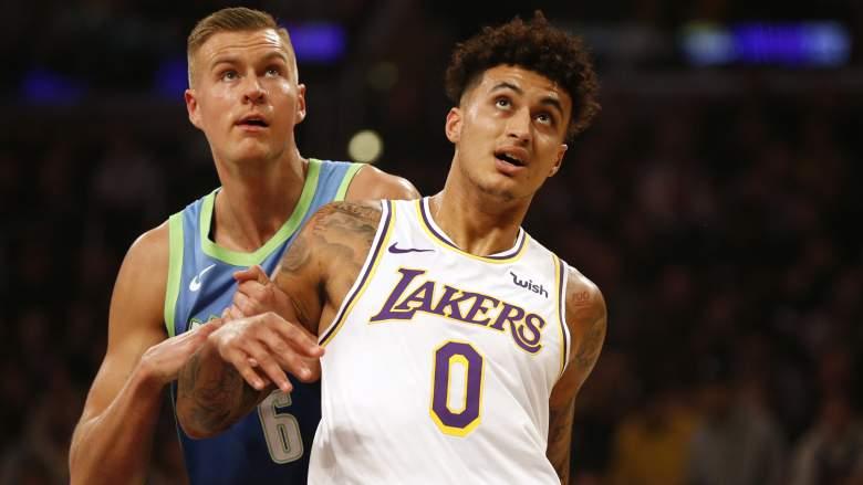 NBA Rumores: Kyle Kuzma podría ser traspasado de los Lakers