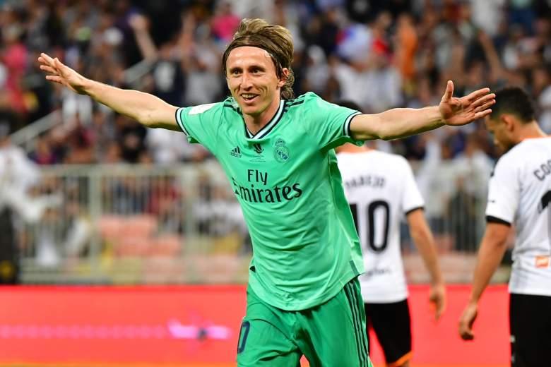 La goleada del Real Madrid al Valencia