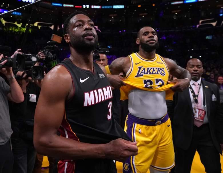 Jugador de la NBA Dwyane Wade