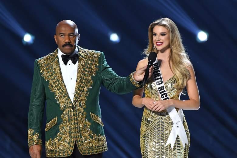 Miss Puerto Rico, Madison Anderson, se vistió de novia en la SEmana de la Moda de Nueva York