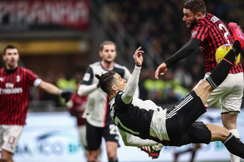 La terapia de Cristiano Ronaldo metido en hielo