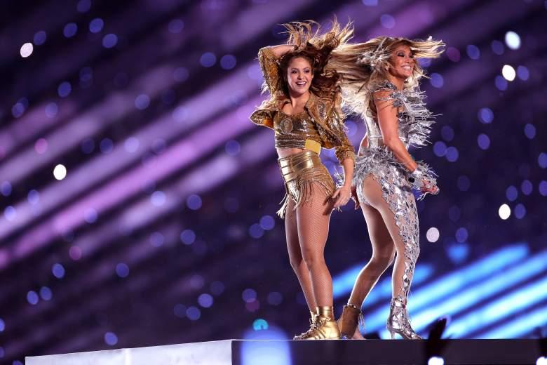 Jennifer López y Shakira en el Super Bowl