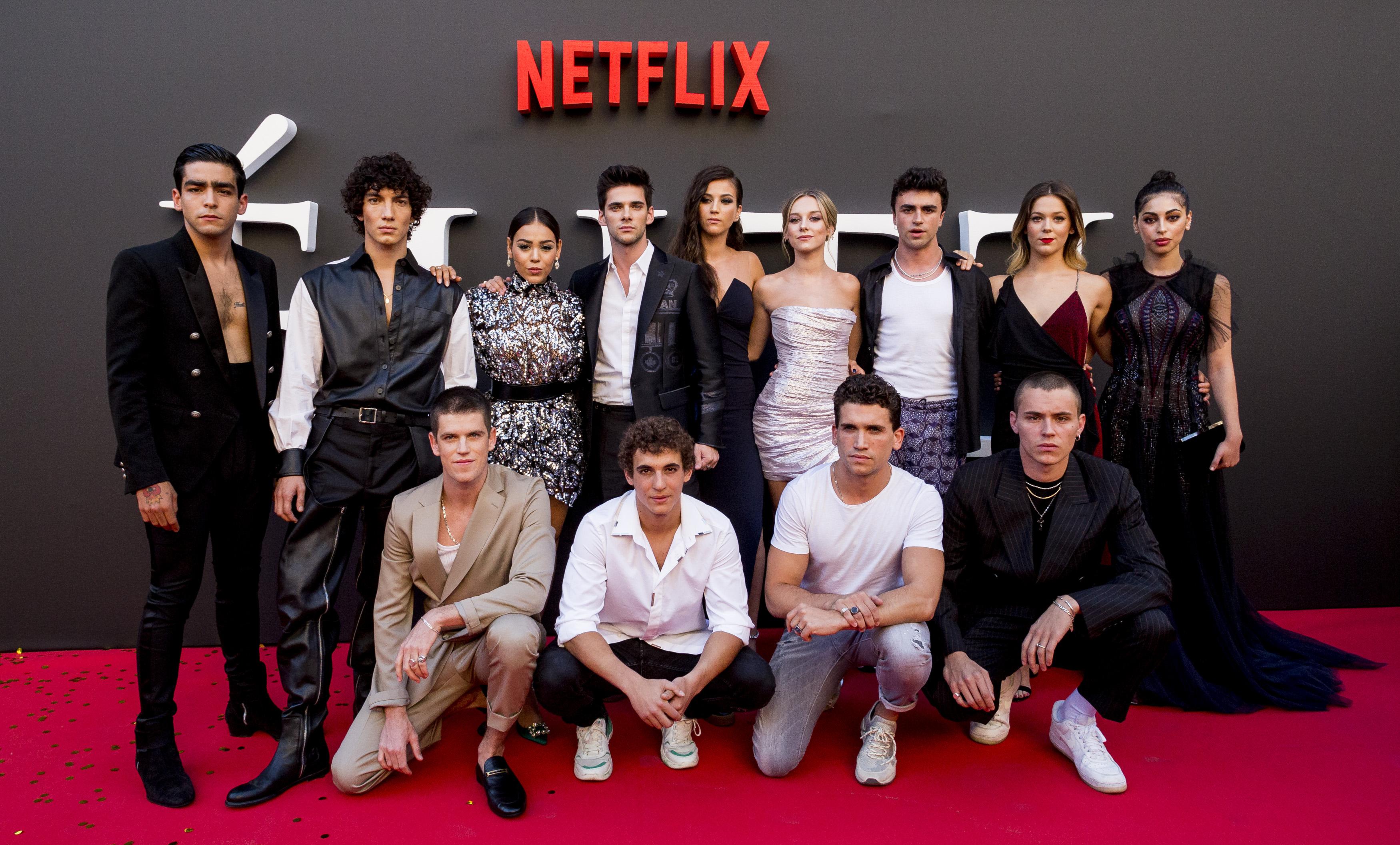 Image result for integrantes de la serie elite