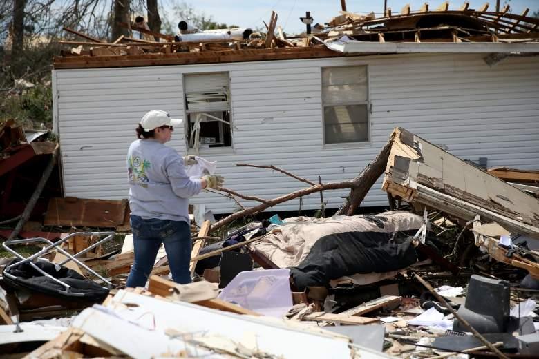 Última Hora: violentos tornados destruyen sur de Mississippi en pleno Domingo de Pascua