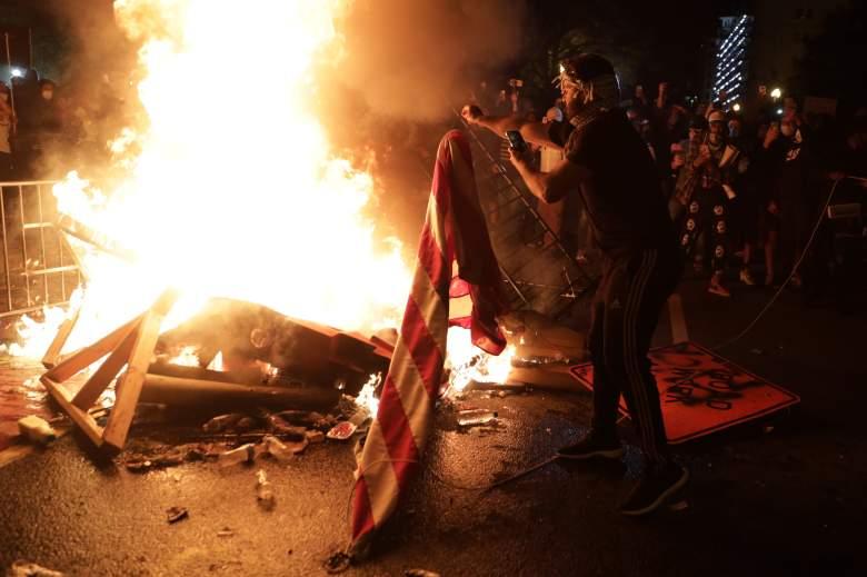 Violentas protestas en washington siembran el caos en la Casa Blanca: ¿adónde se llevaron a Trump?