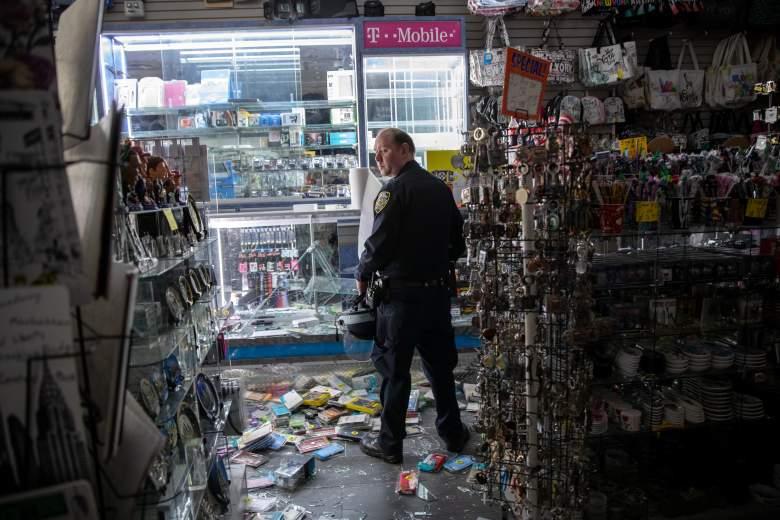 Saqueadores llegaron a robar una tienda en NY en lujoso carro Rolls-Royce: [Video]