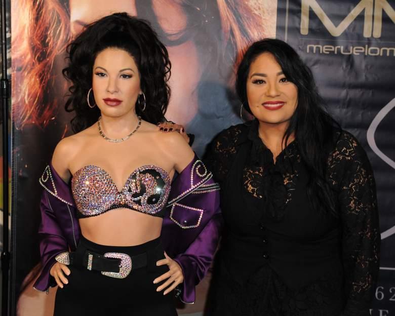 Estatua de Selena Quintanilla con gorra de Trump desata polémica