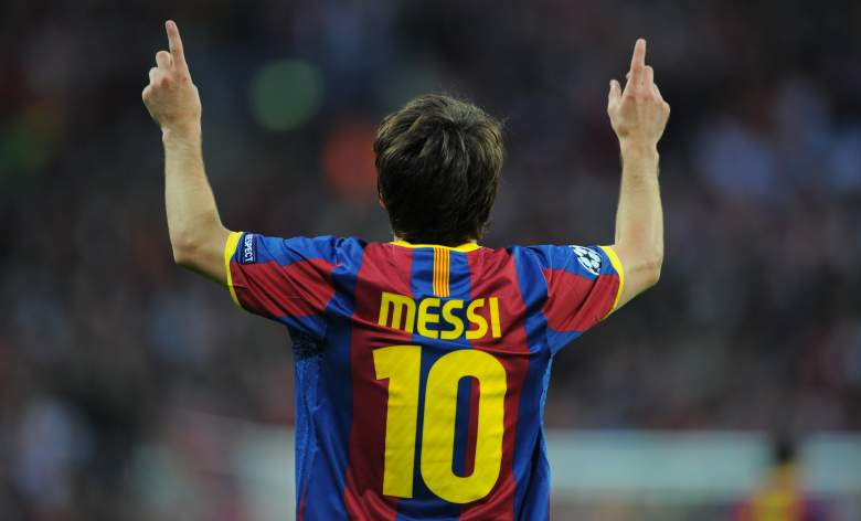 Messi Manchester United