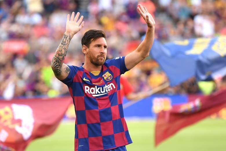 Lionel Messi Camp Nou