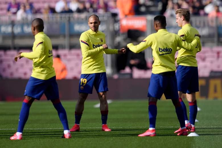 Entreno del FC Barcelona