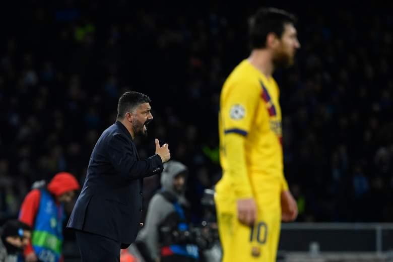 Gennaro Gattuso entrenador del Nápoles