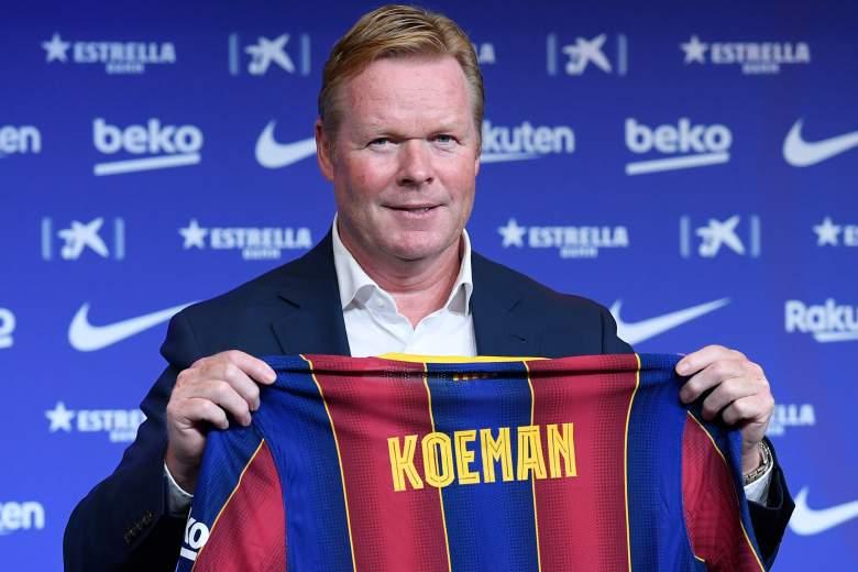 Ronald Koeman presentación como nuevo entrenador del FC Barcelona