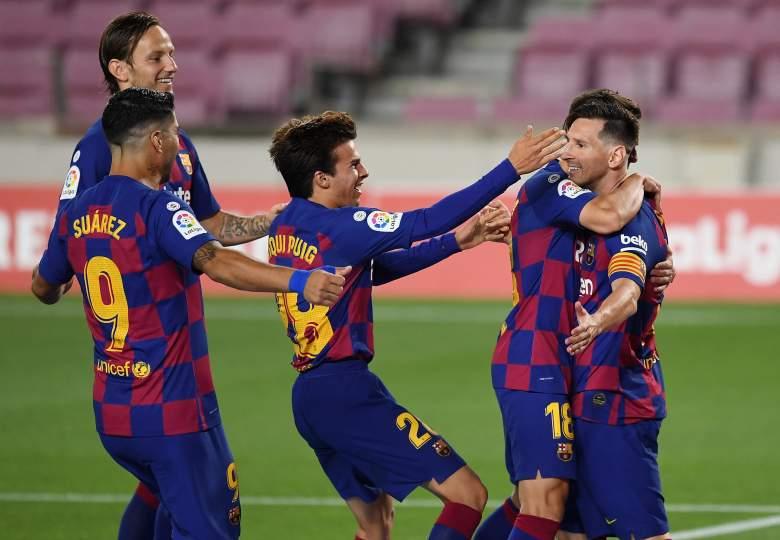 FC Barcelona durante partido de Liga