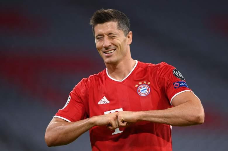 Robert Lewandowski jugador del Bayern Munich