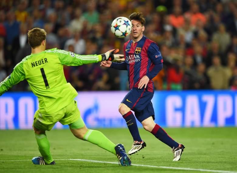 Leo Messi vs Bayern Múnich 2015