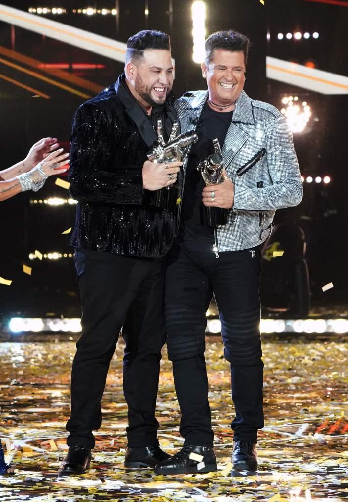 """Sammy Colón del Team Vives, el gran ganador de la segunda temporada de """"La Voz US"""" de Telemundo"""