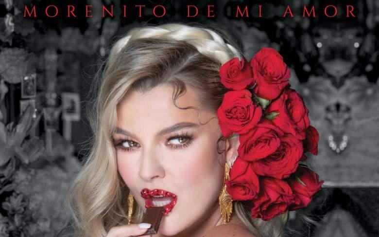 """Marjorie de Sousa estrena canción """"Morenito de Mi Amor"""""""