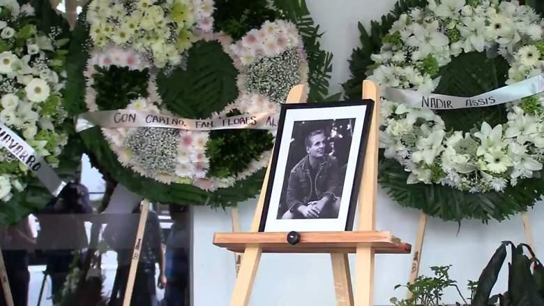 El último adios a Xavier Ortiz