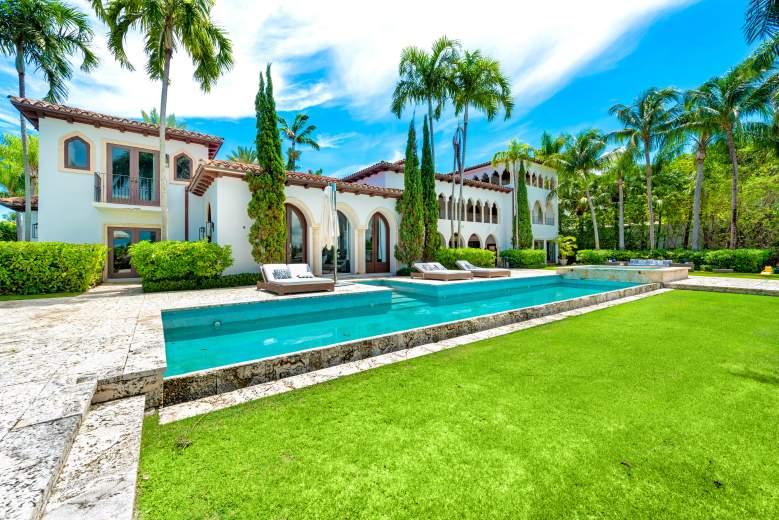 La espectacular casa de Cher en Miami