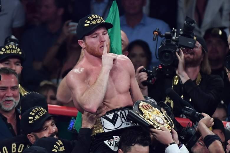 Saúl 'Canelo' Álvarez - Boxeador mexicano