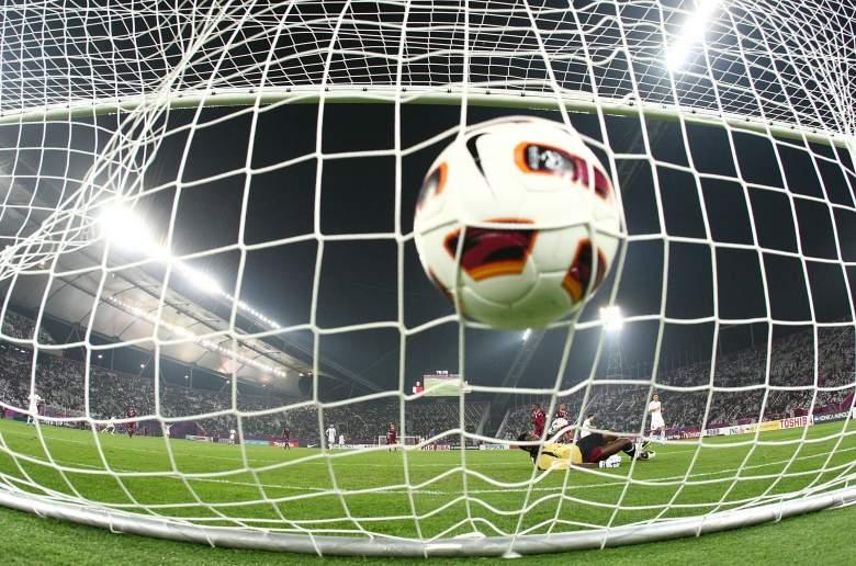 Arquero Qatari Qasem Burhan - AFC Asian Cup