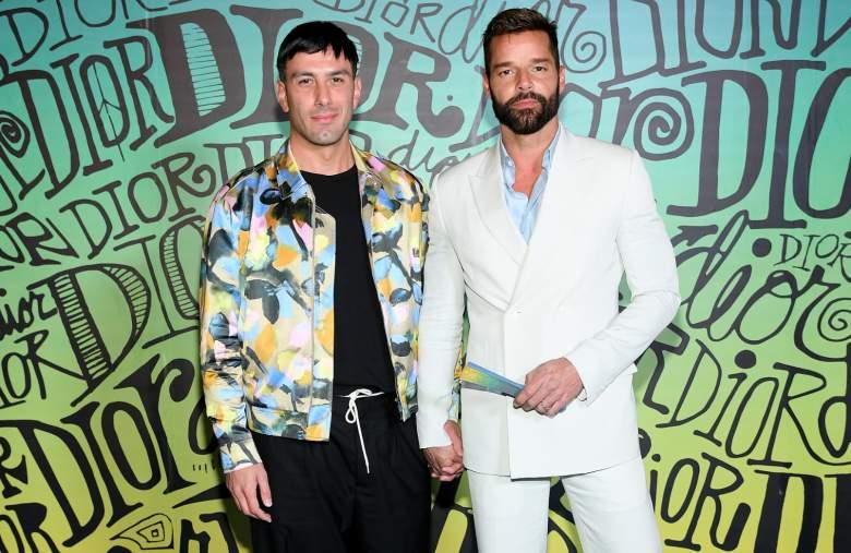 Ricky Martin se pone romántico con su pareja Jwan Yosef