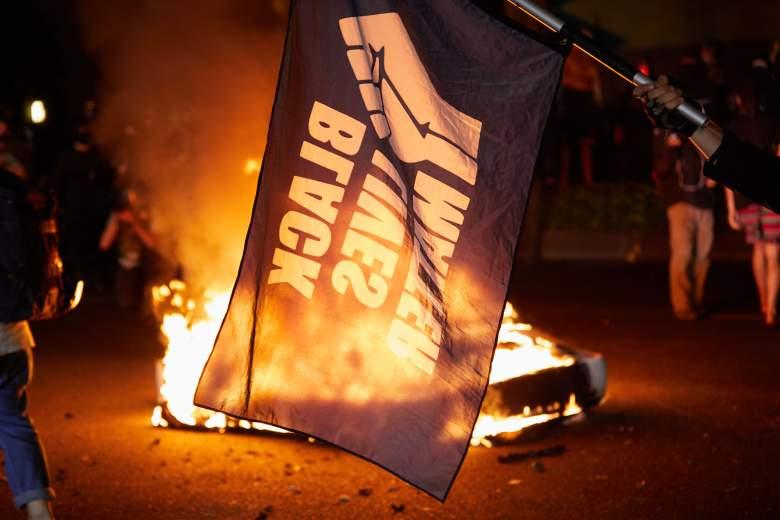 Protestas en Portland, Oregon on September 2020