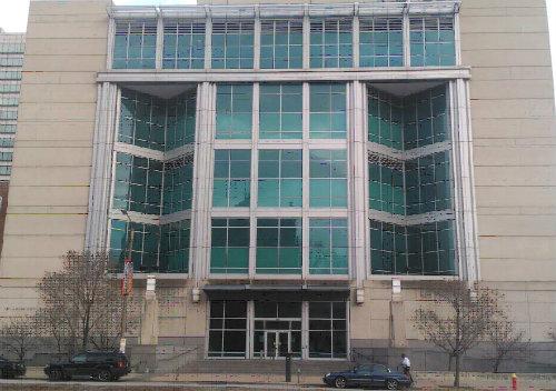 El Centro de Justicia de St. Louis.