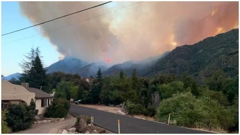 Incendio El Dorado, California
