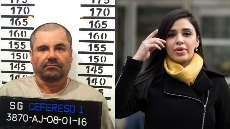 Chapo Guzmán y Emma Coronel