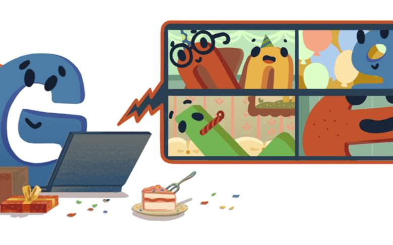 Google celebra su cumpleaños con un Google Doodle