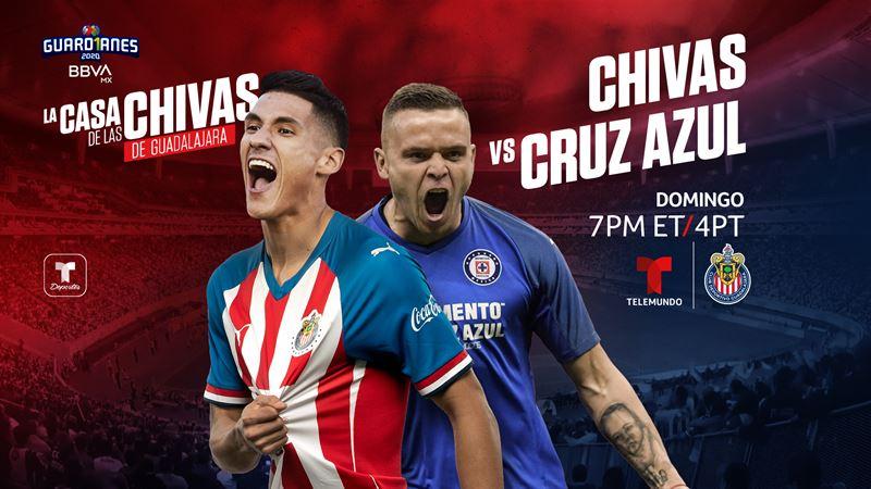 CHIVAS DE GUADALAJARA VS. CRUZ AZUL: ¿Cómo disfrutar el partido?