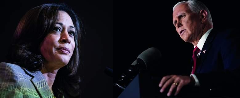 Kamala Harris, Senadora Demócrata y Mike Pence vicepresidente de Estados Unidos.