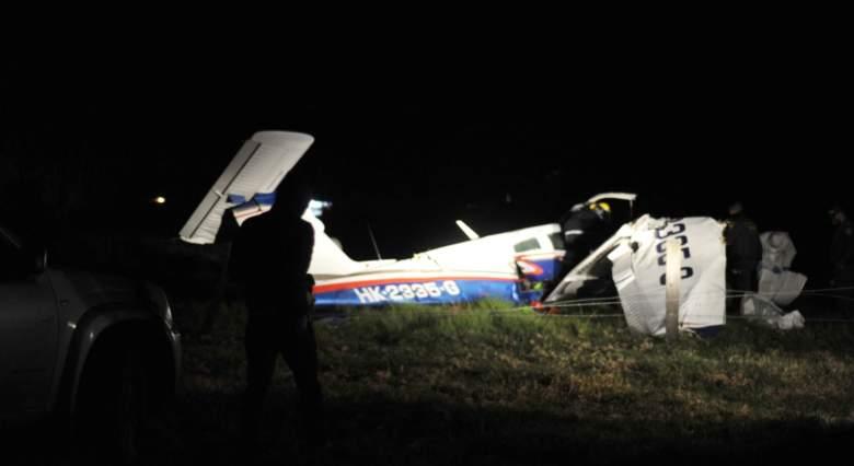 Accidente de avioneta en Cundinamarca, Colombia - Octubre 2020