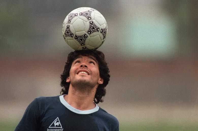 Diego Maradona - ex futbolista