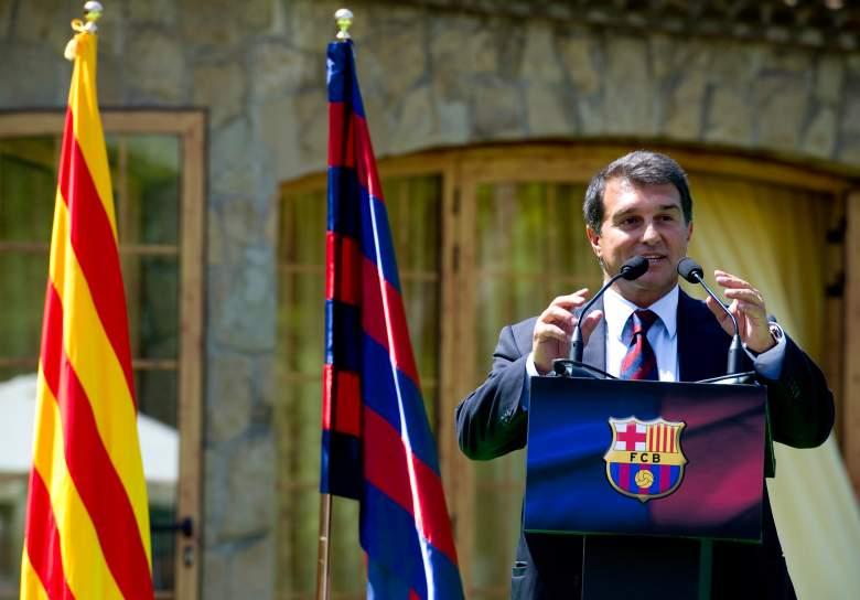 Joan Laporta ex presidente del Barcelona