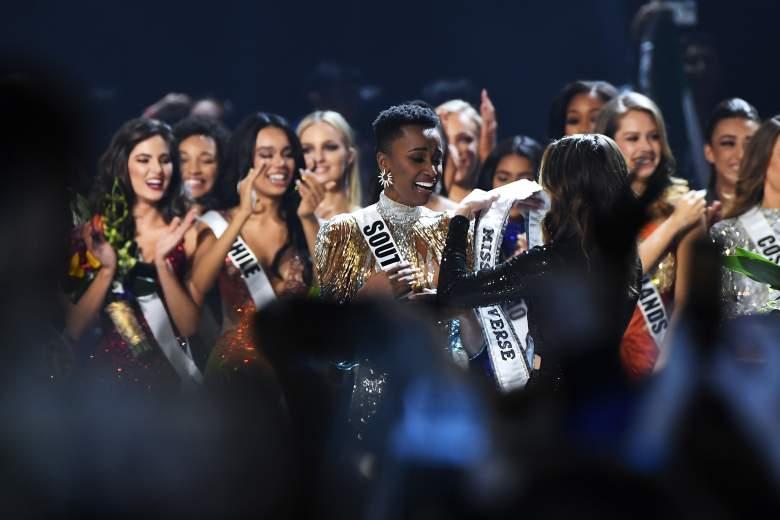 Nueva Miss Sudáfrica Shudufhadzo Musida