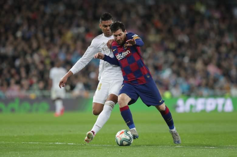 Casemiro vs Messi