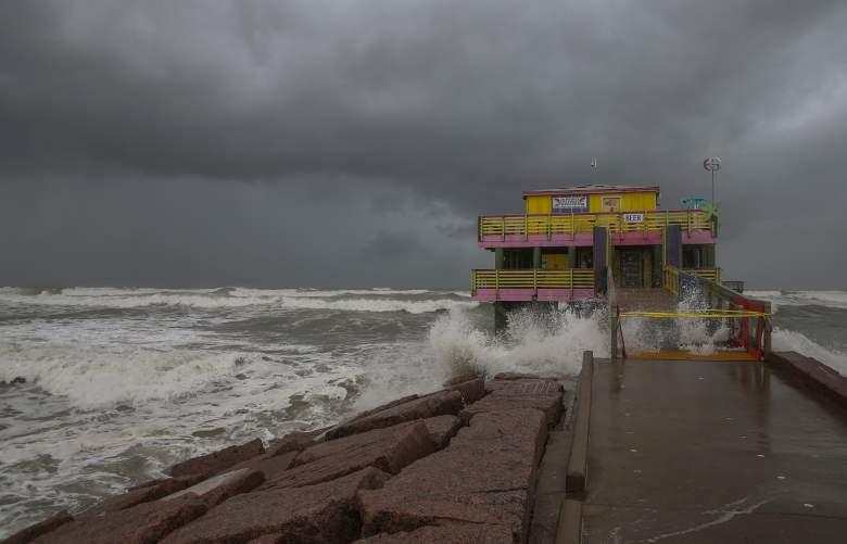Imagen del huracán Laura - Agosto de 2020