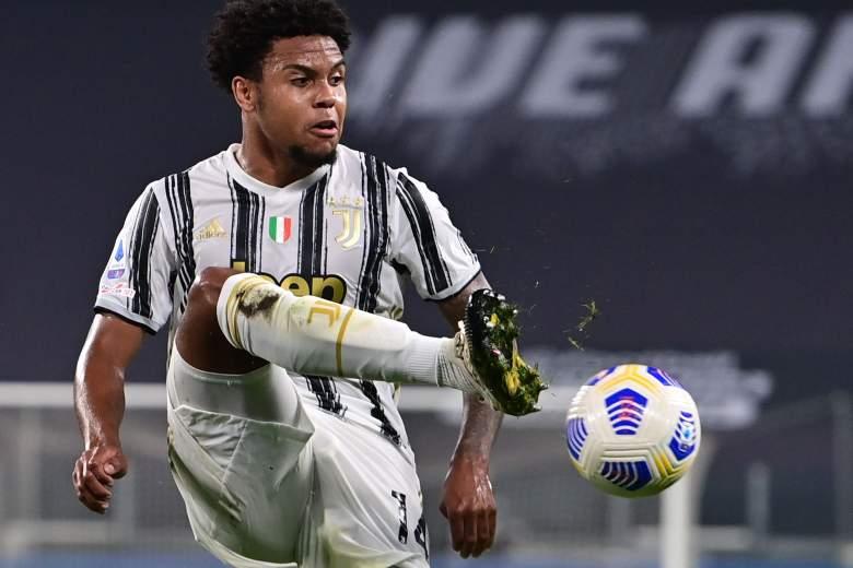 Weston McKennie jugador de La Juventus de Turín - 2020