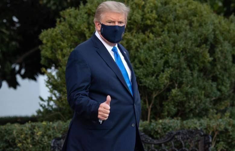 ¿Cómo está Trump con los primeros síntomas del COVID-19?: Así respondió en este video