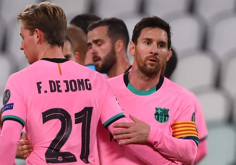 Messi De Jong