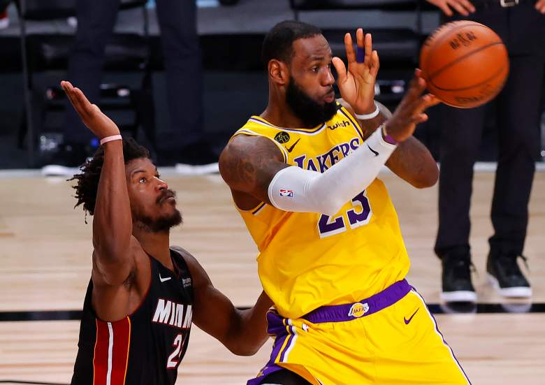 Finales NBA 2020 - cuarto juego entre Los Ángeles Lakers vs. Miami Heat.