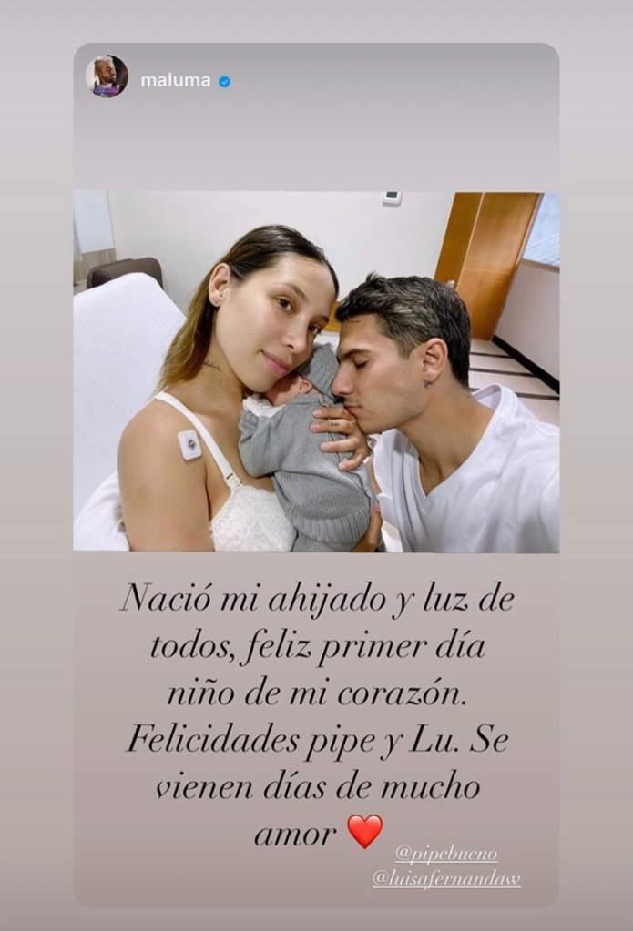 Captura de pantalla Instagram Maluma.