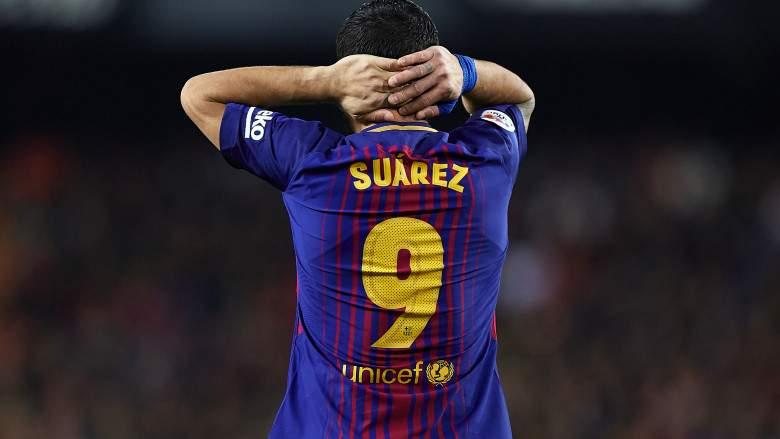 Luis Suárez - ex jugador del FC Barcelona