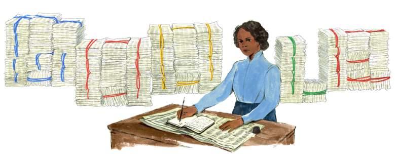 Google Doodle en homenaje a Mary Ann Shadd Cary